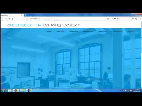 Banking Management System | Student Projects