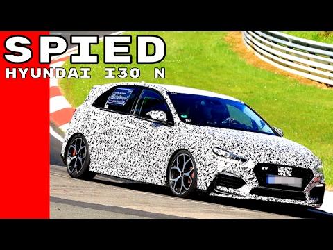 Hyundai i30 N Spied Testing