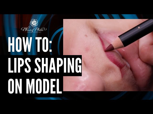✨HOW TO: LIPS SHAPING ON CLIENT✨