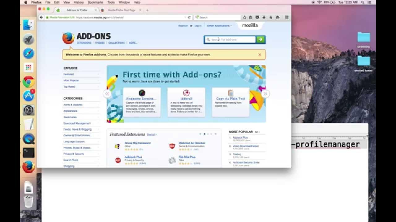 Part 2: Backup Firefox Profile via Profile Manager