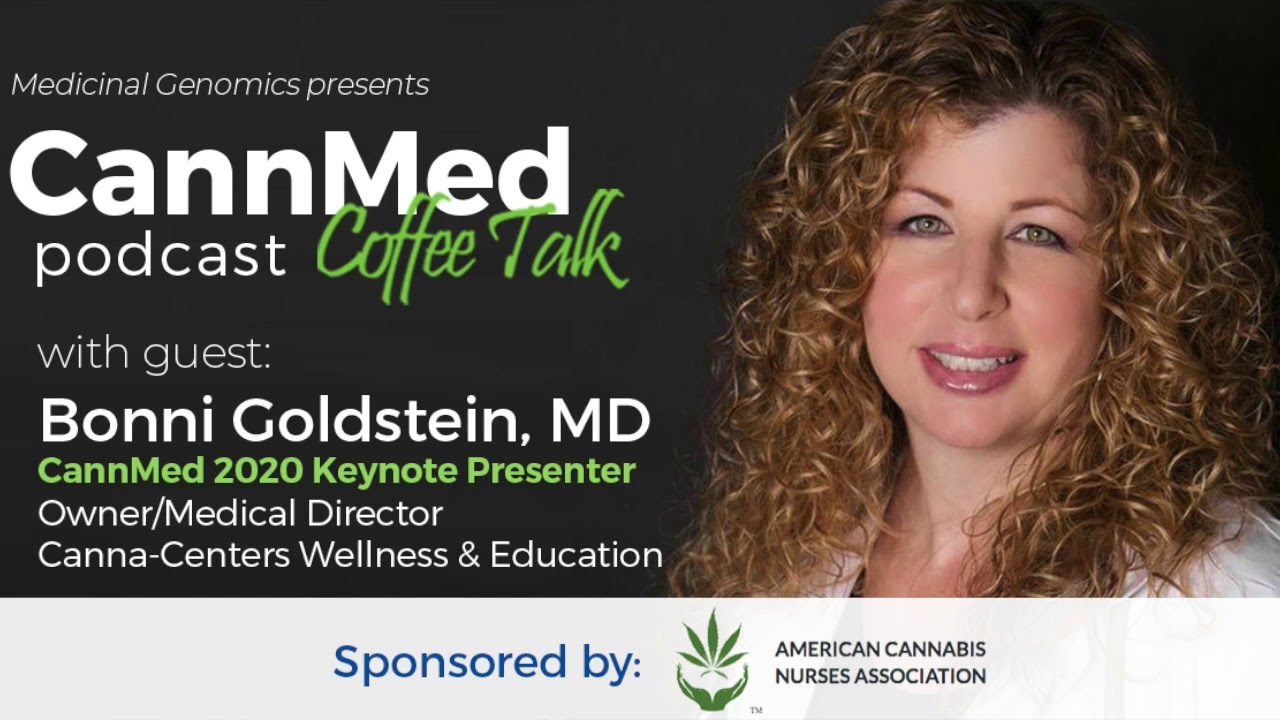 CannMed Coffee Talk 04 with Bonni Goldstein, MD