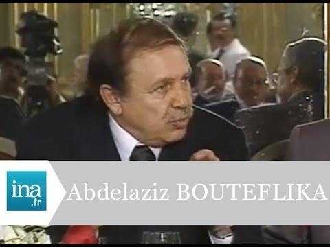 Abdelaziz Bouteflika face à la presse à Paris - Archive INA