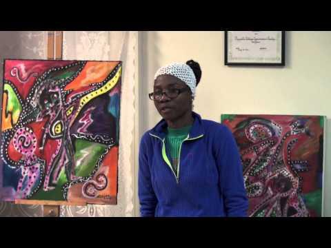 Wet Paints Artist Profile 2015 - Nadine Leger