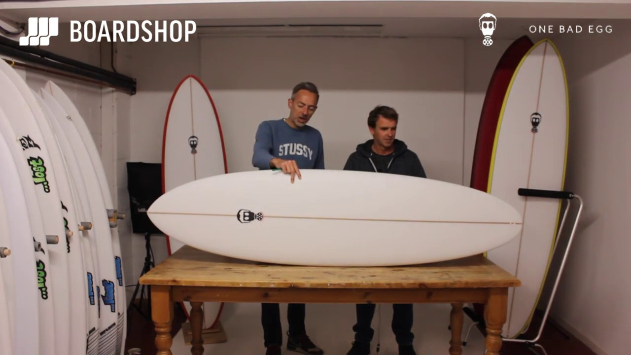 Mark Phipps One Bad Egg Surfboard Review With Mark Phipps