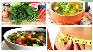 Похудение на супах