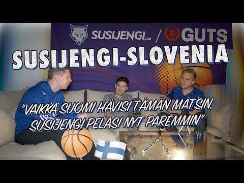 Suomi–Slovenia Post-Game: Susijengin turnauksen paras ottelu