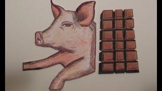 كيف تعرف اذا كان في الشوكولاته دهن خنزير ?