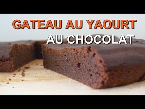 gateau au yaourt au chocolat moelleux recette facile et. Black Bedroom Furniture Sets. Home Design Ideas