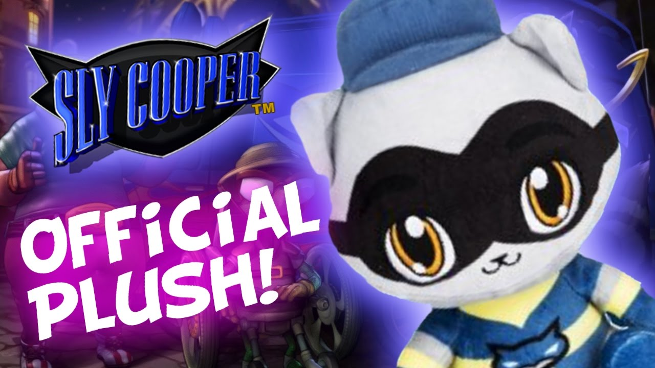 Sly Cooper Stuffed Animal, Sly Cooper Official Playstation Plush Is Coming Sly Merchandise More Youtube