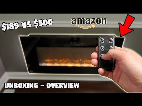 LED Electric Fireplace ($189 Amazon Vs $500