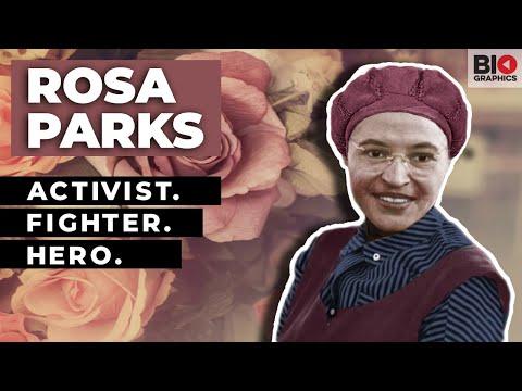 Rosa Parks: Activist. Fighter. Hero.