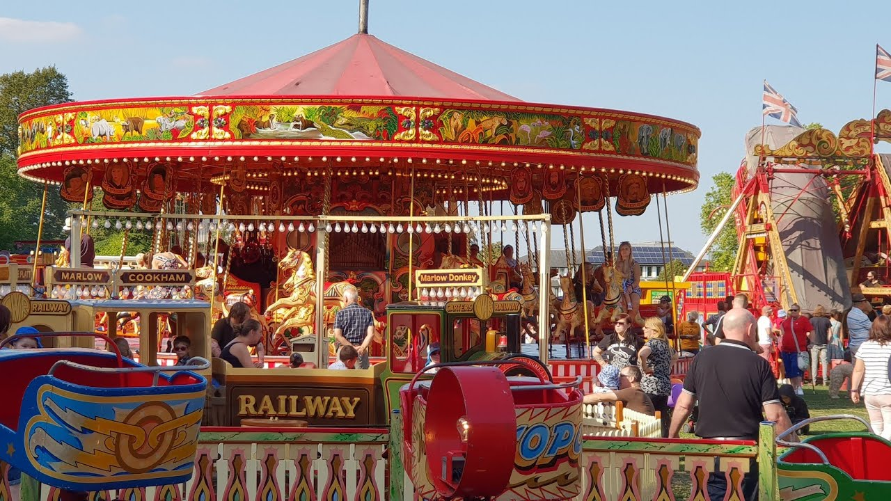 Worlds Largest Travelling Vintage Fairground Carters Steam Fair