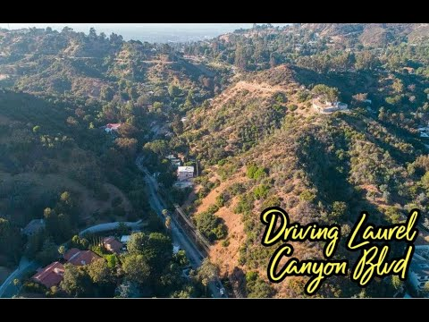 Driving the Full Length of Laurel Canyon Blvd