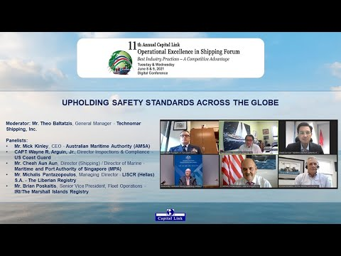 2021 11th Annual Operational Excellence in Shipping Forum – Safety Standards Across Across The Globe