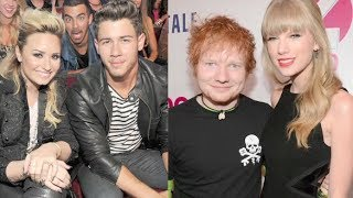 Taylor Swift & Ed Sheeran Vs. Demi Lovato & Nick Jonas: #1 OTP?!