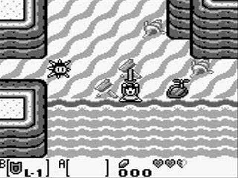 Zelda: Link's Awakening Walkthrough part 1: I dream of Zelda