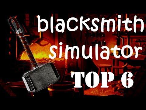 6 ЛУЧШИХ ИГР СИМУЛЯТОР КУЗНИ ПК ♦ TOP 6 GAMES BLACKSMITH SIMULATOR On PC ♦