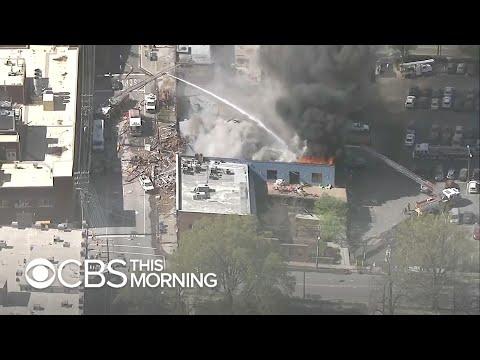 Durham gas explosion kills one, destroys buildings