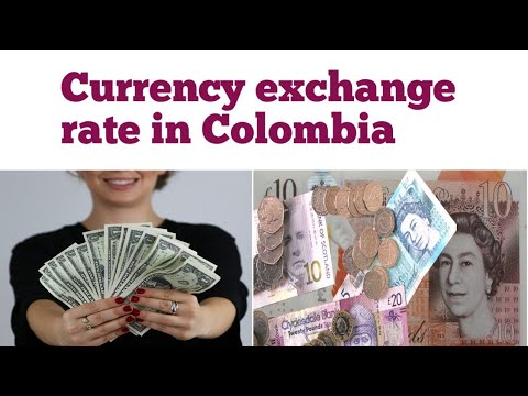 Currency Exchange Rate In Colombia | Colombian Peso Exchange Rate | Dollar To Colombian Peso