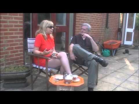 "Roxanne Fontana  - Interview with Radio Caroline's Peter Antony & ""Green"" video"