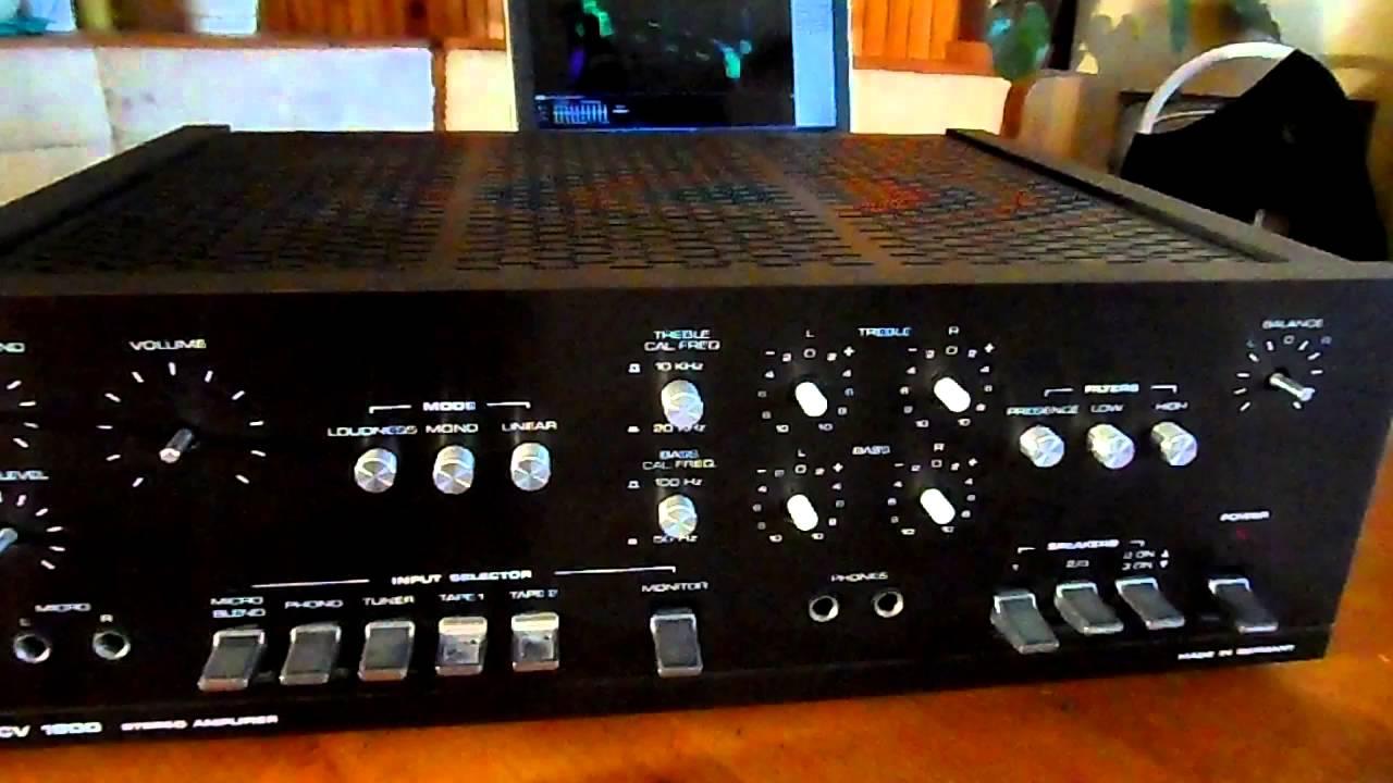 dual cv 1600 stereo amplifier iq 5180 at viyoutube. Black Bedroom Furniture Sets. Home Design Ideas