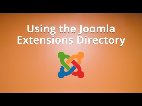 Using The Joomla Extensions Directory