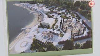 Обновленная набережная парка Победы уже этим летом встретит отдыхающих