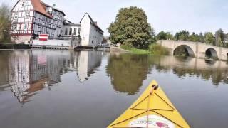 Fulda Kanutour vom Camping Beiseförth zum Camping Büchenwerra-2016