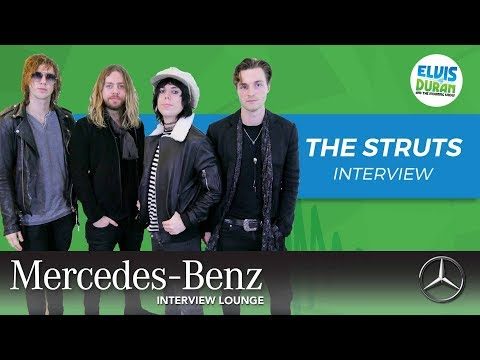 The Struts On Performing At The Victoria's Secret Fashion Show | Elvis Duran Show