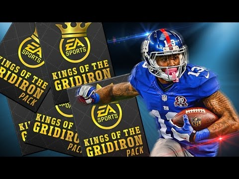 INSANE MADDEN MOBILE KINGS OF THE GRIDIRON PACK OPENING & 98 OVR PULL!!!