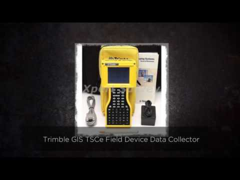 Trimble GIS TSCe Field Device Data Collector