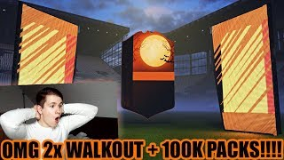 FIFA 18: DAS LETZTE SCREAM PACK OPENING! 2x WALKOUT OMG😱😱 - ULTIMATE TEAM - 100K PACKS & SCREAMS!