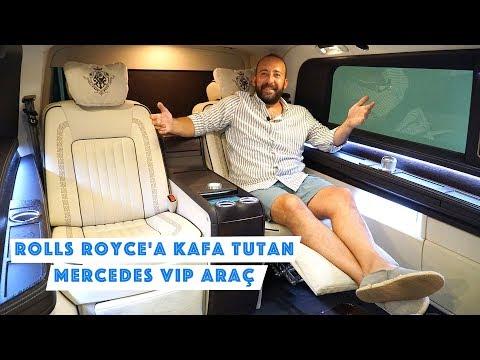 Rolls Royce'a Kafa Tutan Mercedes VIP Araç: Yerli Tasarım