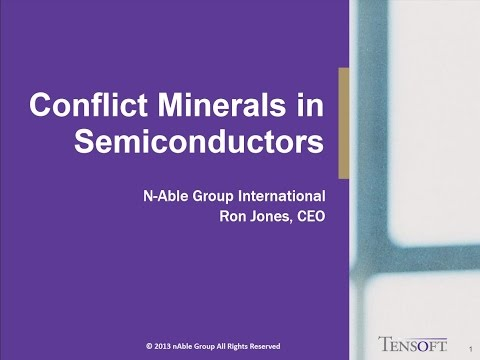 Conflict Minerals in Semiconductors