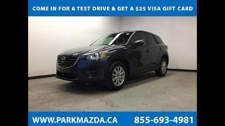 BLACK 2016 Mazda CX-5  Review Sherwood Park Alberta - Park Mazda