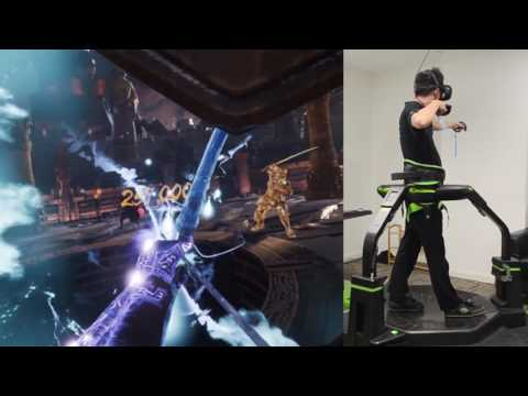 Hero VR | Virtuix Omni VR Action Game Display - Purgatory