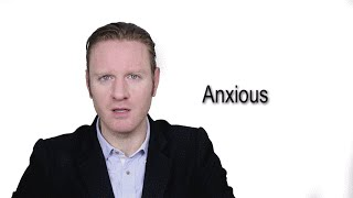 Anxious Meaning Pronunciation Word Word Audio Dictionary
