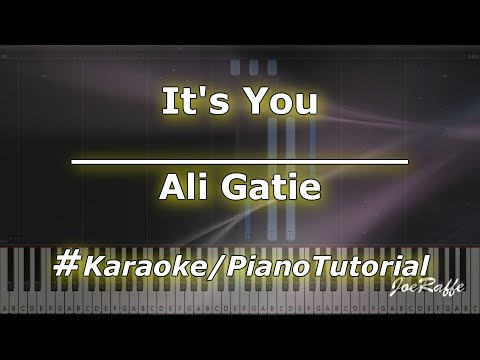 Ali Gatie - It&39;s You KaraokePianoTutorialInstrumental