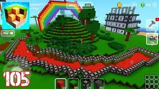 Lava Flow Stream | Block Craft: 3D Building Simulator Games For Free | Gameplay 105 screenshot 3