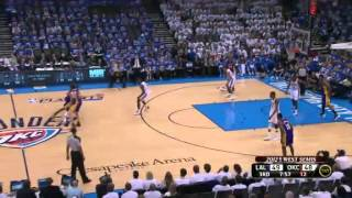 Los Angeles Lakers vs Oklahoma City Thunder - Game 2 (NBA Playoffs 2012 Full-game highlights!) 05/16
