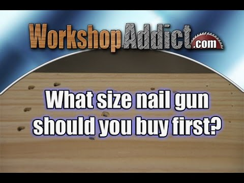 What Gauge Nailer for Woodworking?