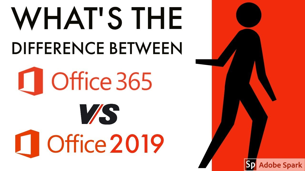 What's the difference between Office 365 and Office 2019 | Which is best  office 365 or 2019 | DDT