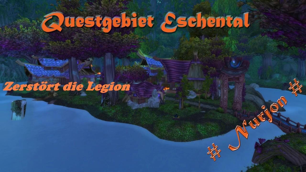 WoW Quest Zerstört die Legion HD - YouTube