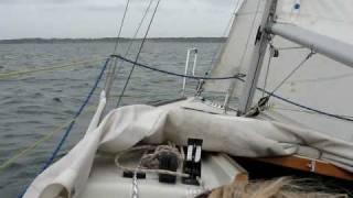8.5 m/s på Venø Bugt... (Hurrywood)