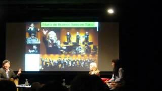 Japan: Coloquio del tango, Instituto Cervantes en Tokio (2/3) 2016-03-07(Tue)2003hrs