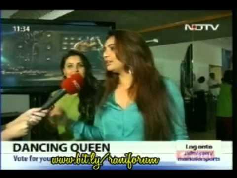 Rani with Vaibhavi talking about Aga bai(Aiyyaa) ,belly dancing &  Prithvi