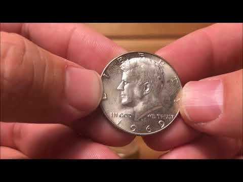 Searching Silver Kennedy Halves For Valuable Varieties - Making Money For A Large Coin Purchase!