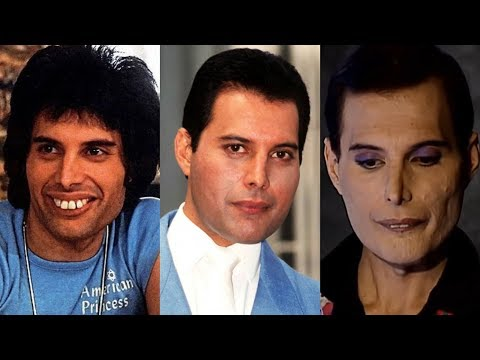 Freddie Mercury Transformation - From Baby To 45 Years Old