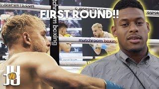 Ringside At the Jake Paul Vs. Gib Fight! // JuJu Smith-Schuster Vlog // Twitch Streamer Bowl