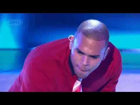 Chris Brown - Forever - Australian Idol Live Performance
